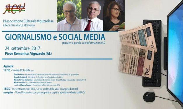 """Domenica a Viguzzolo si parla di come funziona (male?) l'informazione locale e non. Occasione unica per conoscere i """"dietro le quinte"""" e fare domande agli esperti"""