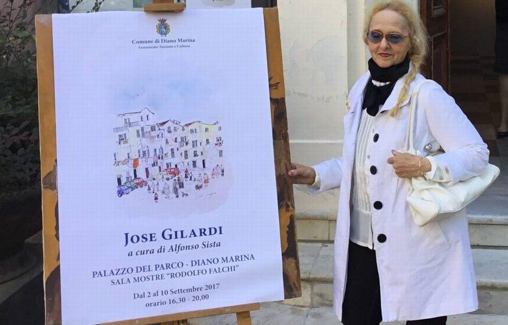 Al Palazzo del parco di Diano Marina inaugurata la mostra di Jose Gilardi. Visitabile fino a domenica