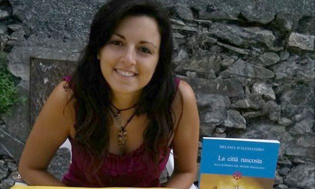 Venerdì a Bordighera Melania D'Alessandro spiega se sia facile o meno scrivere un romanzo