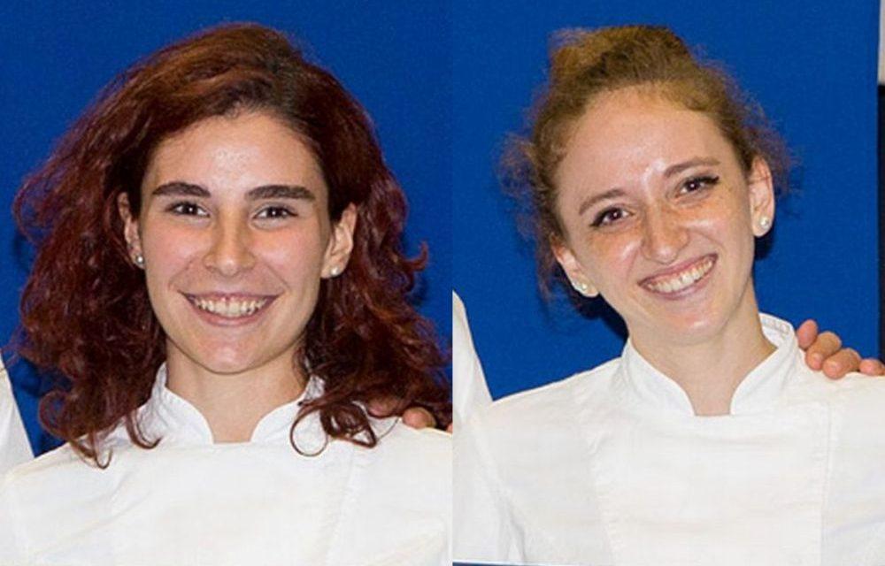 Michela Gusciglio e Marta Simonetti di Imperia si sono diplomate Pasticcere Professionista alla prestigiosa scuola di Gualtiero Marchesi di Parma