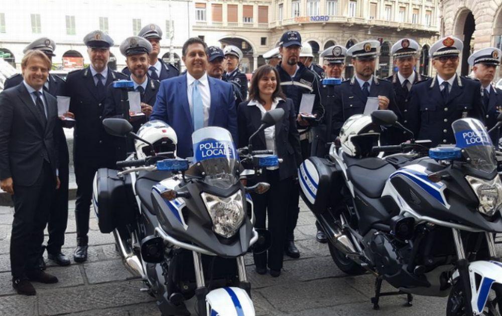 I Vigili urbani di Sanremo e Imperia premiati a Genova nella Prima Giornata della Polizia Locale