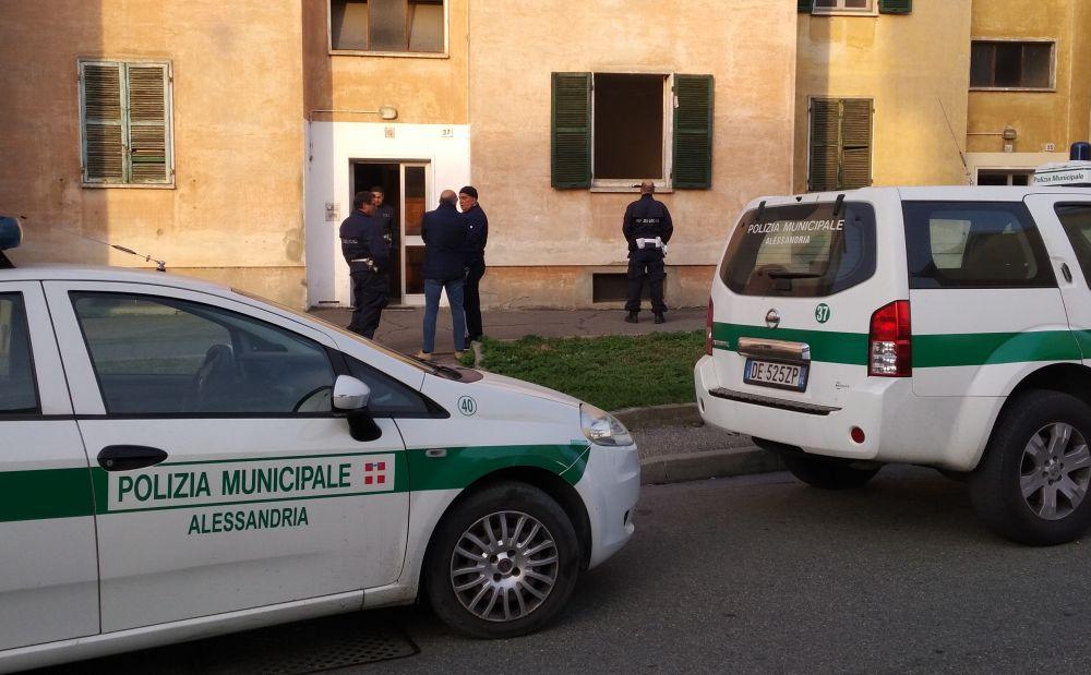 Diversi interventi dei Vigili Urbani di Alessandria sul territorio