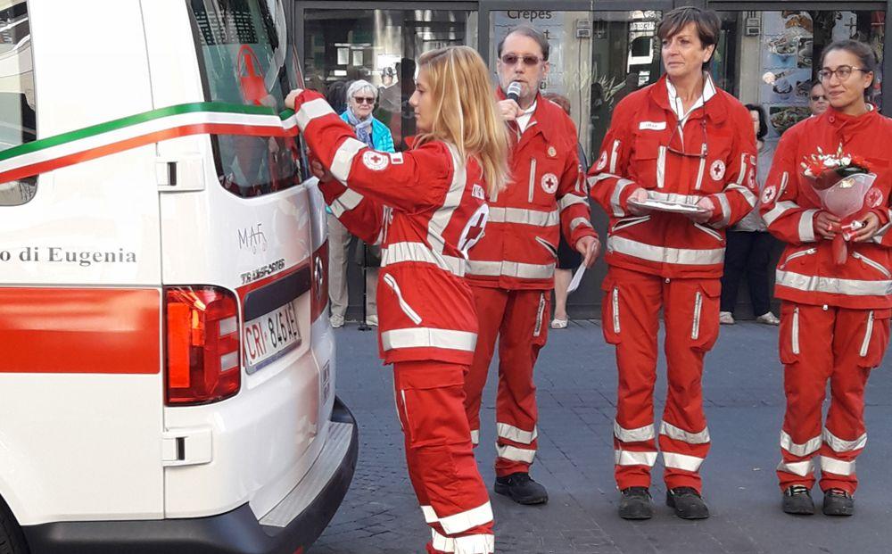 La Croce Rossa di Diano Marina ha una nuova ambulanza per salvare sempre più vite umane