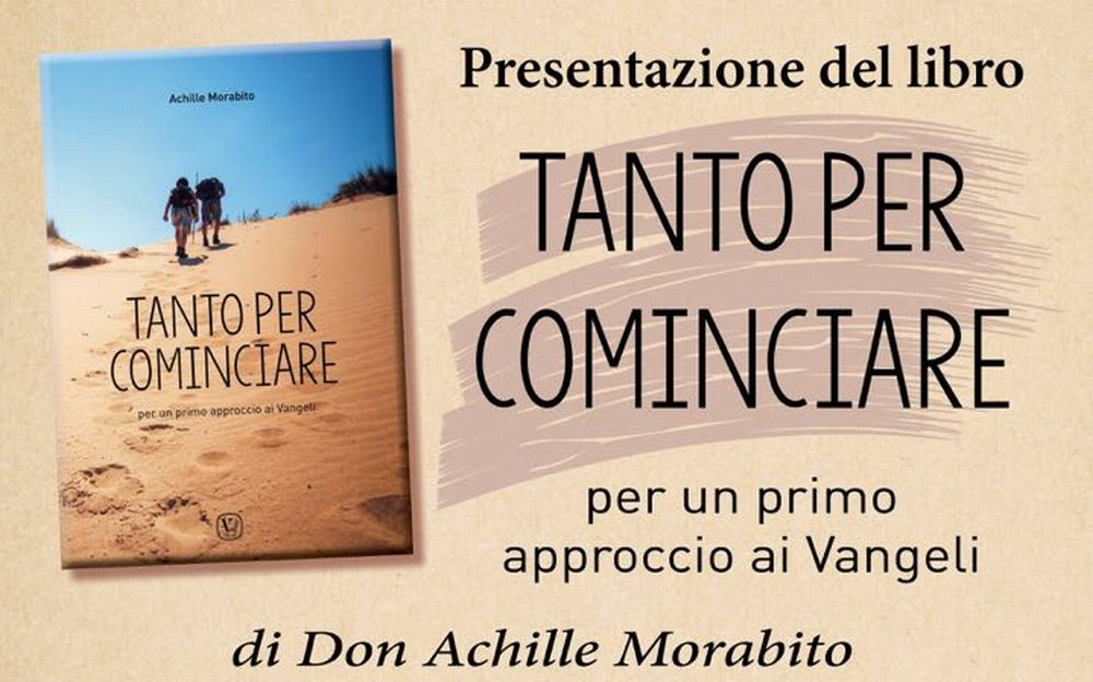 Al Centro Mater Dei di Tortona Venerdì 13 ottobre sarà presentato un libro sui Vangeli a cura dell'orionino don Achille Morabito.