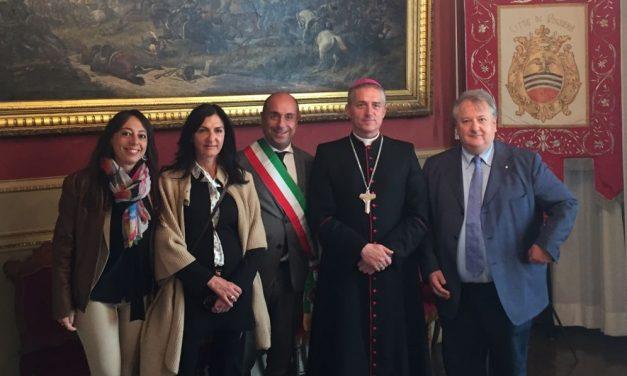Il vescovo Vittorio Viola ha incontrato gli amministratori comunali di Voghera