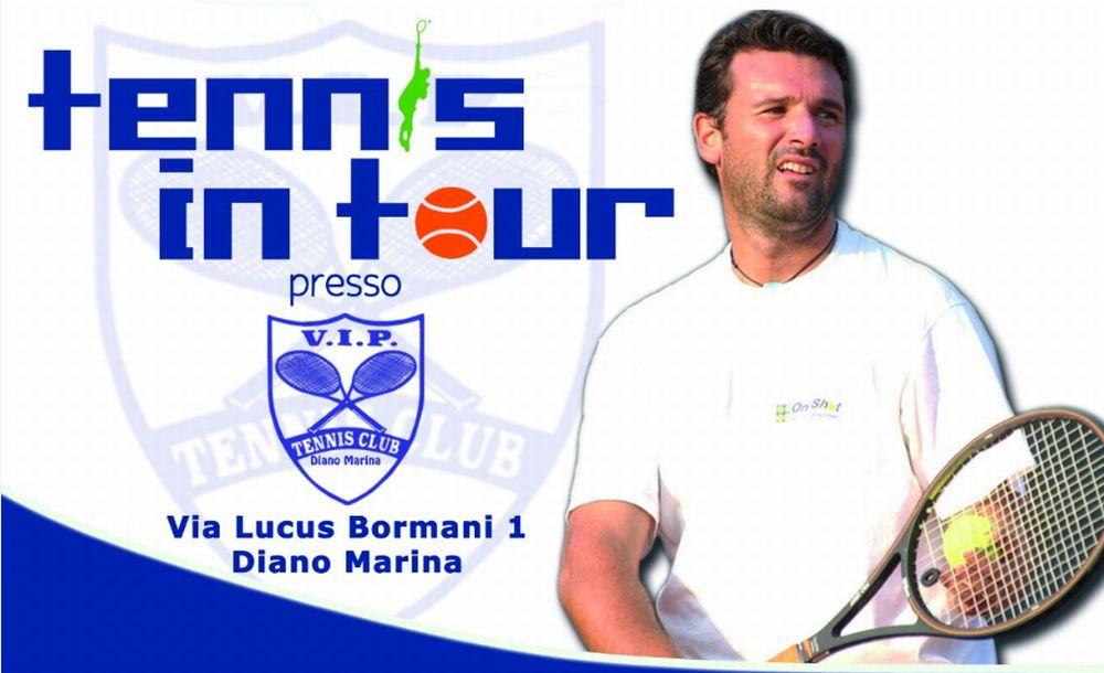Domenica mattina a Diano Marina si gioca a tennis gratis col campione Omar Camporese n. 18 al mondo negli anni novanta