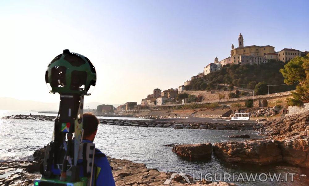 Cervo come non l'avete mai vista su Liguriawow il nuovo modo di esplorare la Liguria a 360 gradi con Google Street View