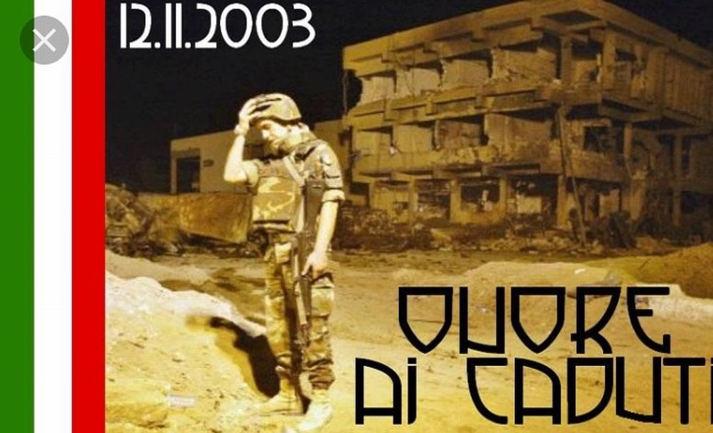 Rinnovamento Ponente ricorda gli italiani caduti a Nassiriya 14 anni fa