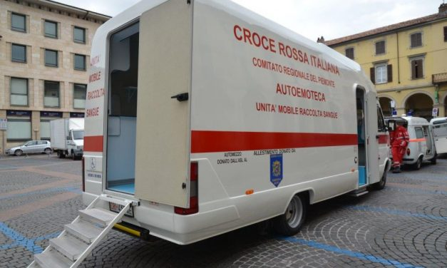 Sabato il Lions club Tortona host organizza raccolta sangue