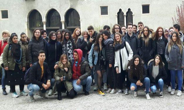 Gli studenti tortonesi dell'Itis Marconi a Verona per una gita suggestiva