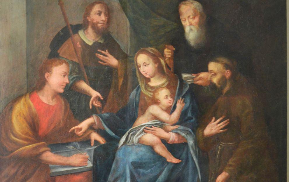 """Gremiasco, quasi ultimato il restauro dell """"Sacra Famiglia"""" nella chiesa parrocchiale del paese"""