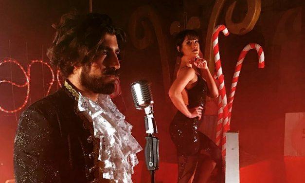 """In anteprima le immagini del nuovo video del cantautore dianese Simone Alessio """"MusicAmore"""" con la showgirl Desirée Nossa"""