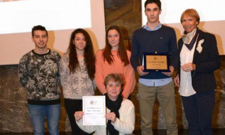 La squadra di Badminton del liceo Amaldi di Novi Ligure premiata dal Coni
