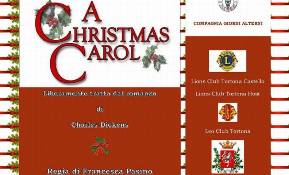 Domenica al Teatro civico di Tortona uno spettacolo natalizio con un nobile scopo