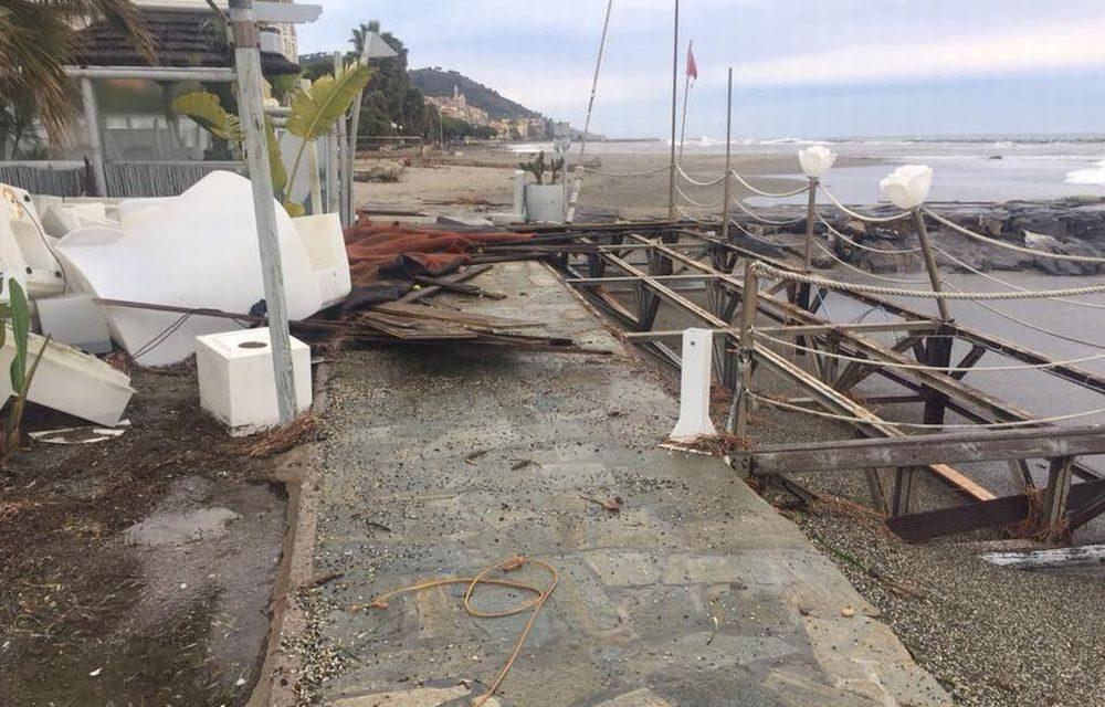 Nel Golfo dianese si contano i danni dell\'inconsueta e particolare ...