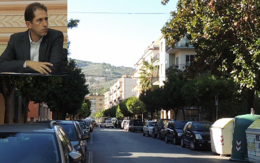 Diano Marina progetta di cambiare i marciapiedi e un nuovo arredo urbano nel tratto ovest di via Roma