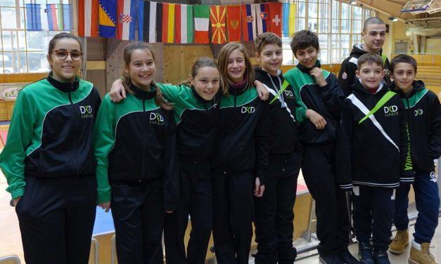 La squadra di karate di Diano Marina unica della Liguria a partecipare al torneo mondiale in Slovenia. Buoni i risultati