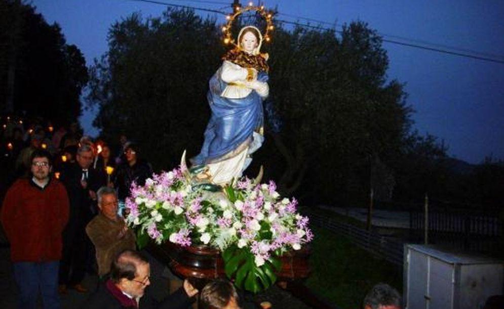 Diano Marina, venerdì alla frazione Calderina processione dell'Immacolata