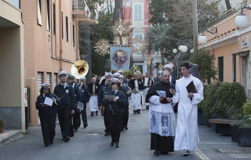 Diano Marina, reportage fotografico di Tommaso Di Gennaro sulla festa di Sant'Antonio Abate con le immagini più suggestive