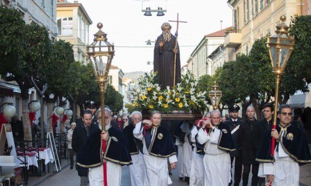 A Diano Marina la festa di Sant'Antonio Abate. Il programma