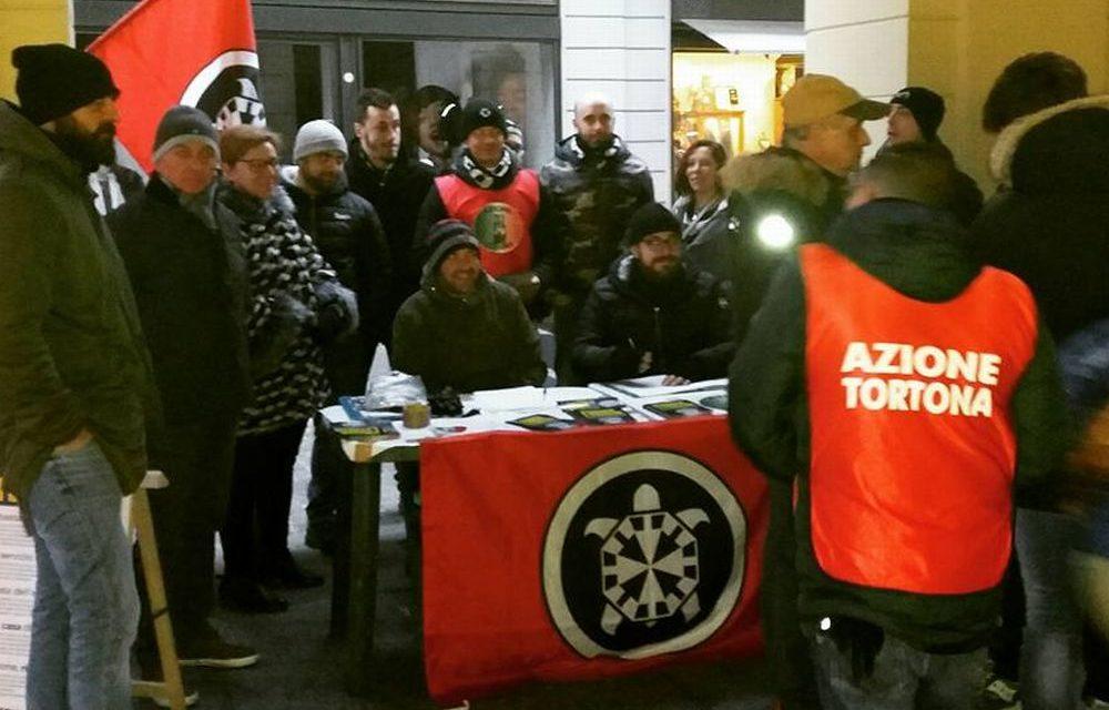 """L'estrema Destra sbarca a Tortona sostenuta dai giovani di """"Azione Tortona"""" che appoggiano CasaPound"""