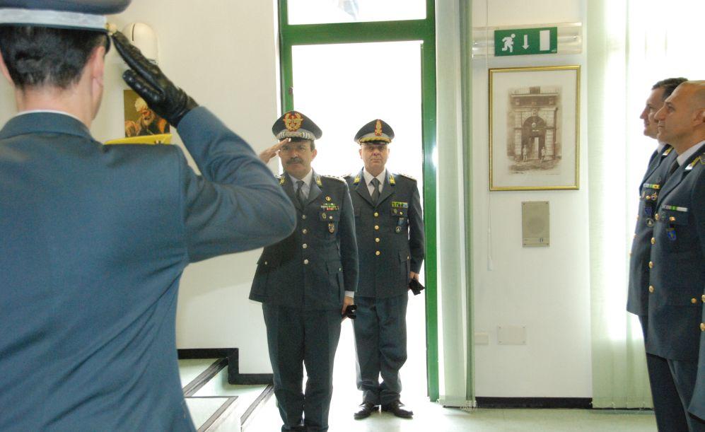 Il Comandante regionale visita la Finanza di Alessandria