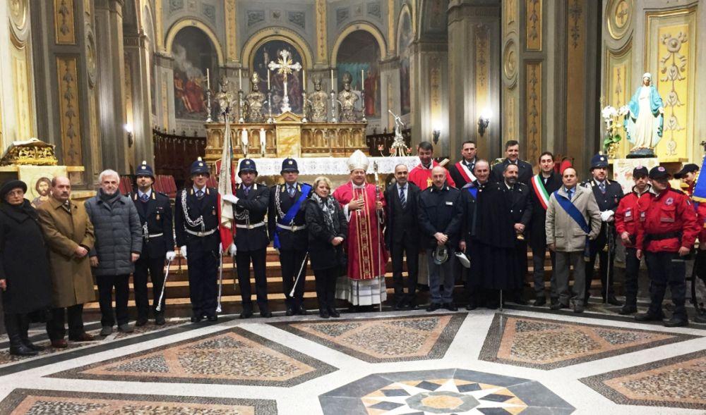 Ad Alessandria celebrata a Festa di San Sebastiano, Patrono della Polizia Municipale