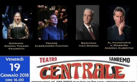 Venerdì al Teatro Ariston di Sanremo il Gran Galà della Lirica