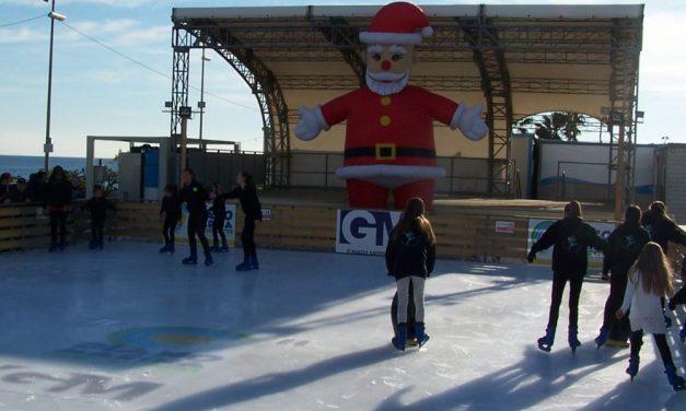 A Diano Marina c'è la Pista di Pattinaggio su ghiaccio