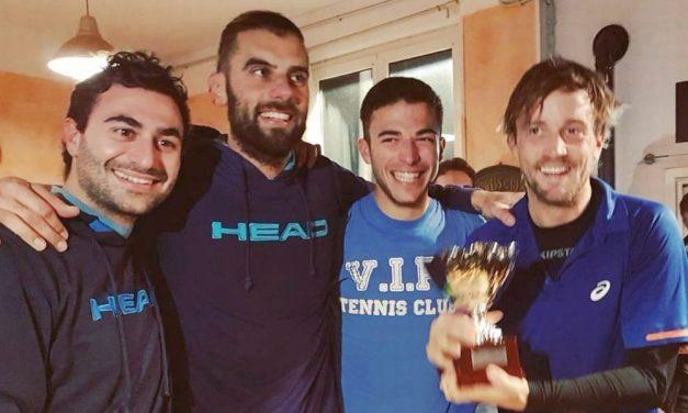 Il Vip Tennis club di Diano Marina sbanca Pietra Ligure e si aggiudica la coppa dopo quasi 7 ore di gioco