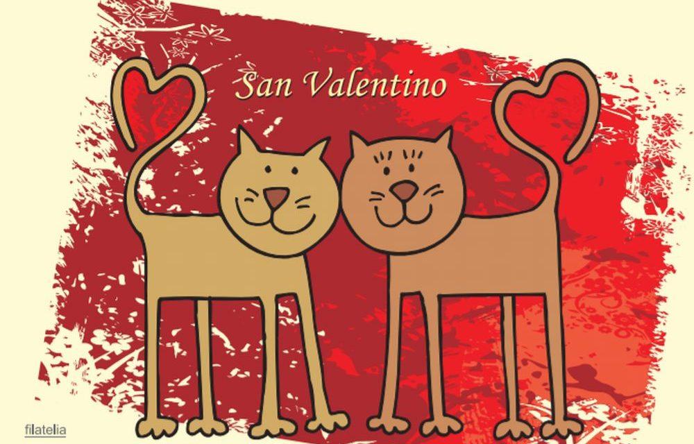 Imperia e Sanremo: cartolina filatelica speciale con un messaggio d'amore per San Valentino