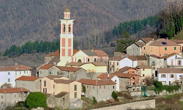 A Dernice, in Val Curone c'era un bellissimo viale alberato che adesso non c'è più……
