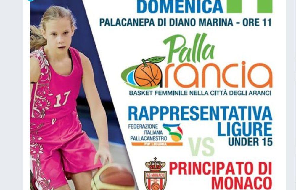 """Domenica a Diano Marina c'è il """"Pallarancia"""" basket femminile nella città degli aranci con sfida al Principato di Monaco"""