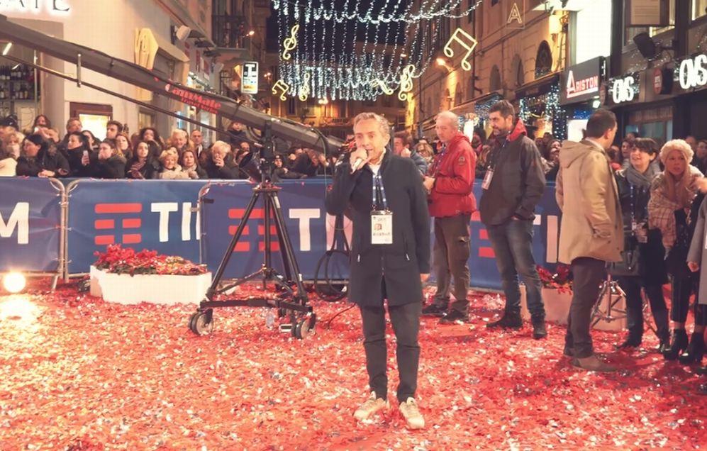 Il dianese Gianni Rossi è tornato al festival di Sanremo con il suo Red Carpet