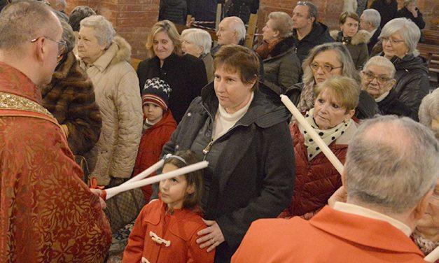 Pontecurone ha celebrato la festa di San Biagio alla presenza di tante persone. /Le immagini
