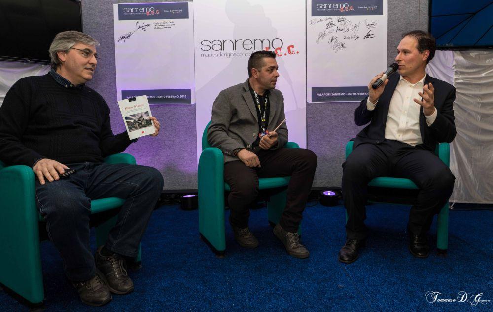 """Successo del  dianese Luca Valentini a """"Casa Sanremo"""" col libro """"Misteri di Liguria"""""""