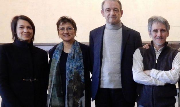 A Castelnuovo Scrivia gli artisti Falchetto, Consoli e Floris si sono confrontati col pubblico