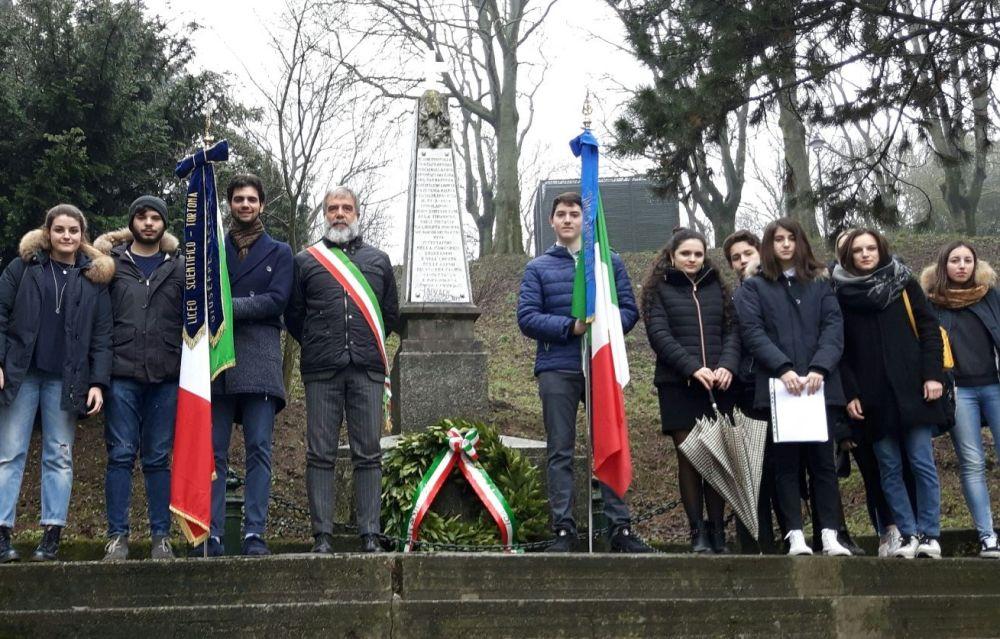 Commemorati i partigiani caduti sul Castello a Tortona