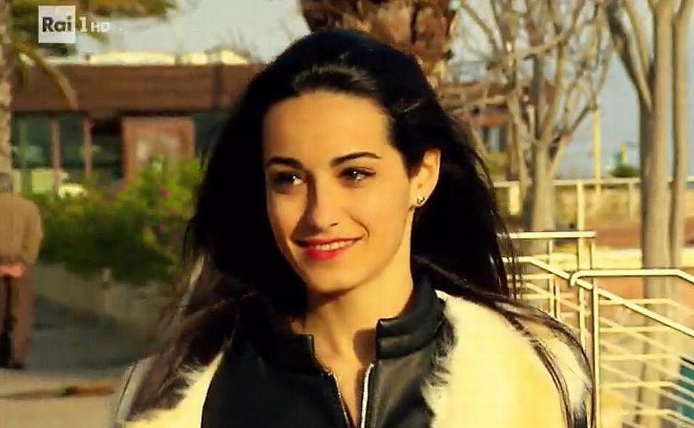 La splendida Ilaria Salerno di Taggia su RaiUno per la trasmissione su Sanremo in fiore