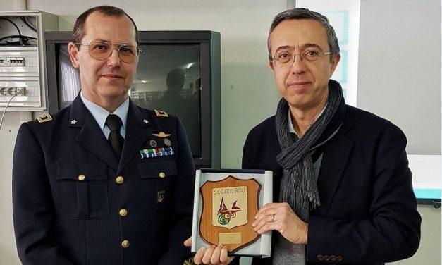 """L'Aeronautica militare sbarca ll'Itis """"Marconi"""" di Tortona"""