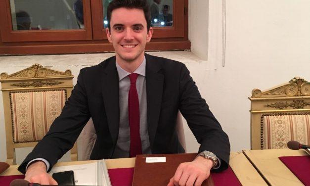 Un Consiglio comunale-lampo a Tortona per l'insediamento di Federico Mattirolo
