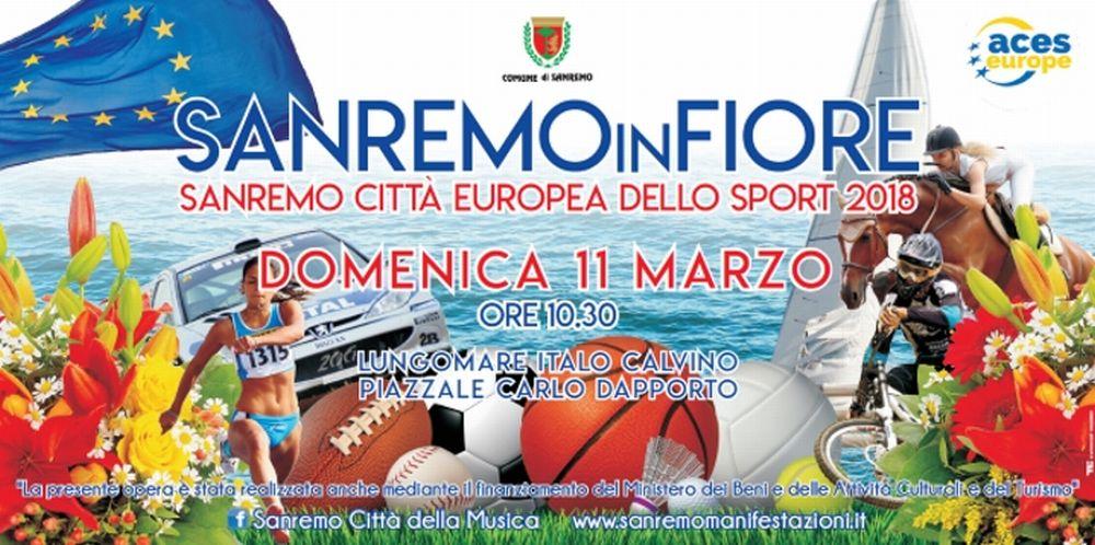 """Domenica 11 marzo c'è """"Sanremo in fiore"""" con la sfilata dei carri. Quello del Golfo dianese dedicato al ciclismo"""