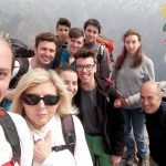 I giovani alpinisti di Alessandra, Novi, Ovada e Tortona all'opera