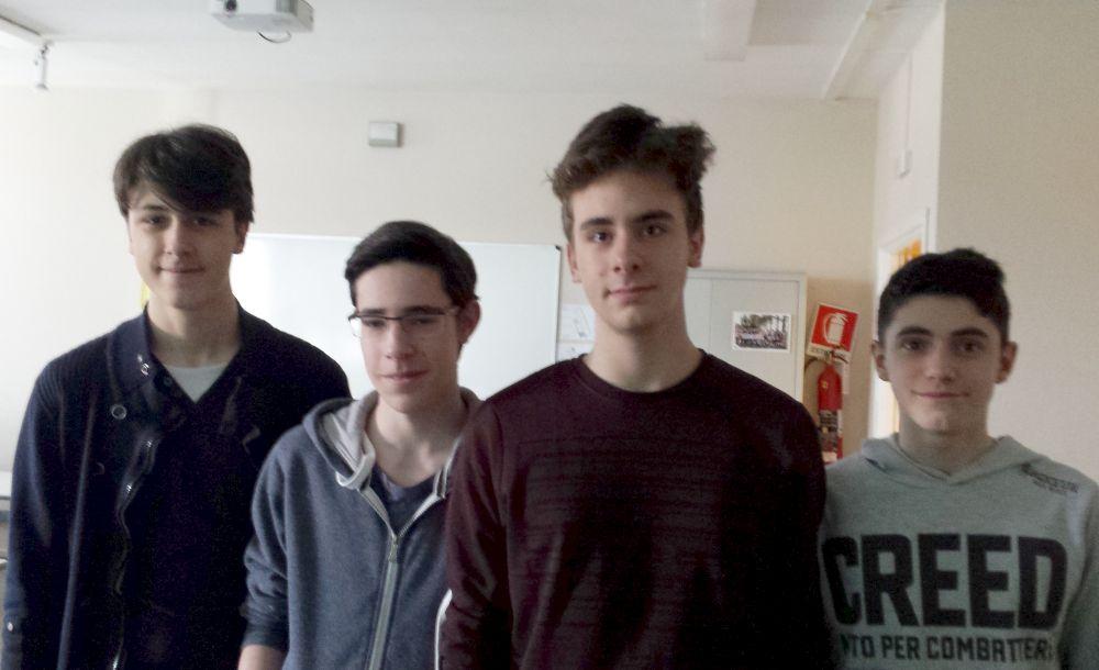 """Gli studenti del Liceo """"Amaldi"""" di Novi Ligure quinti al campionato di Tetrapyramis"""