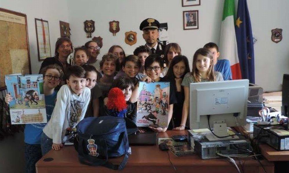 A Casale Monferrato e dintorni i Carabinieri insegnano la legalità ai bambini. Le immagini