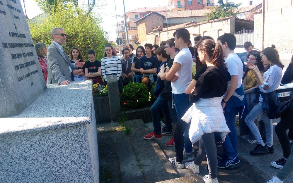 Con le scuole di Viguzzolo per insegnare ai bambini il concetto di libertà