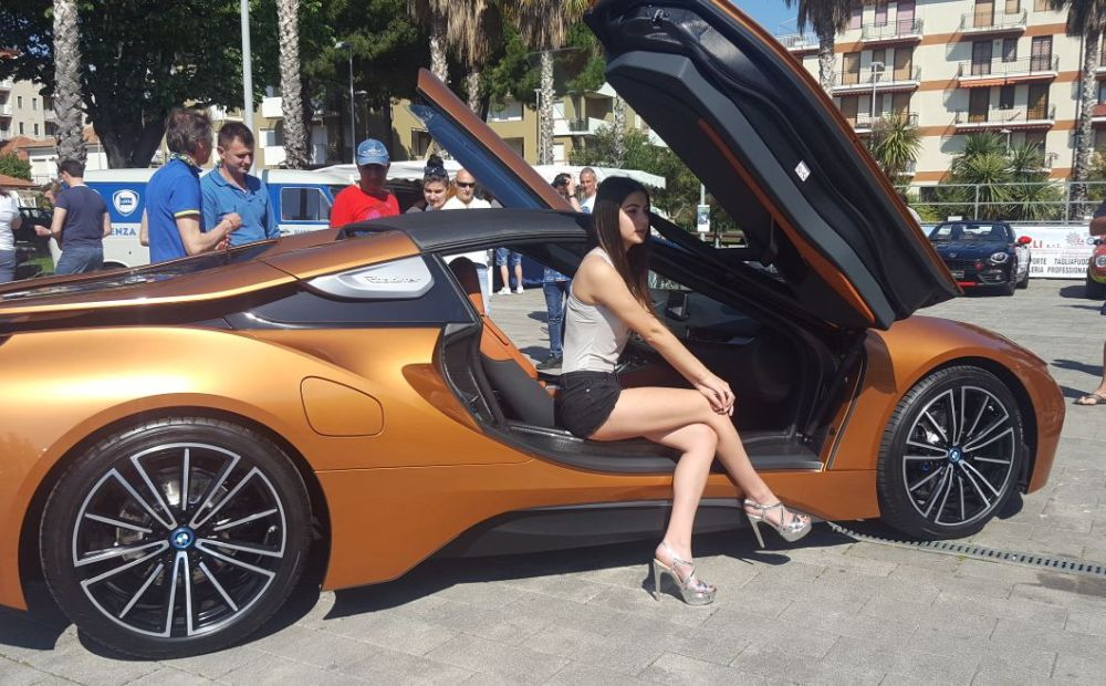 Electro Motor Show, grande successo a San Bartolomeo al Mare.