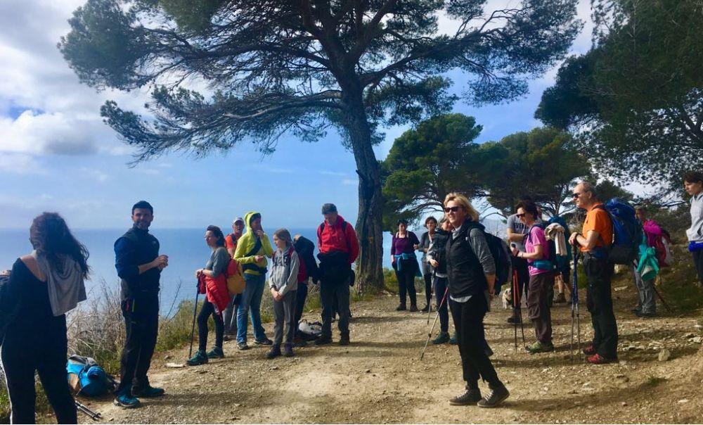 Oltre 30 partecipanti per l'escursione di Pasquetta a San Bartolomeo al Mare