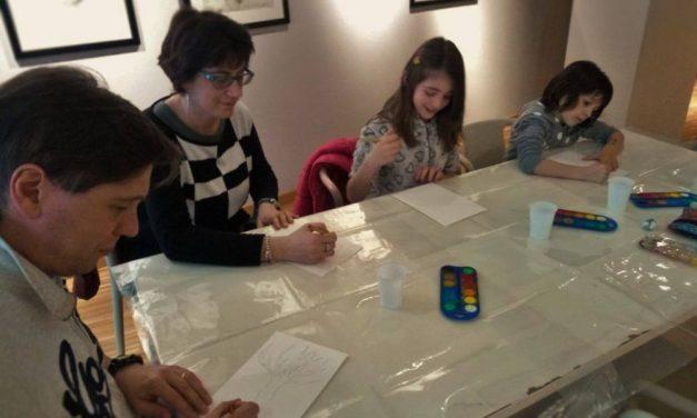 """Al """"Divisionismo"""" di Tortona per Pasqua è stato organizzato un laboratorio di pittura"""