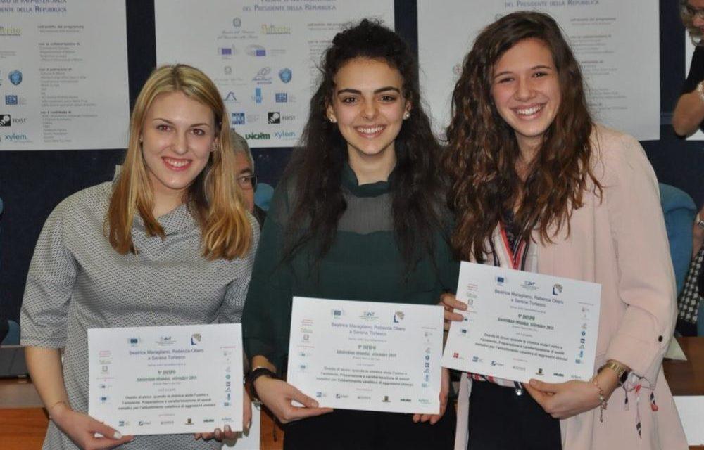 Tre giovani ragazze tortonesi si affermano come promesse della chimica a livello internazionale e volano ad Amsterdam